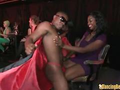 stripper, interracial, bbc, black cock, big cock, blowjob, party, blowbang, group, orgy