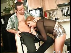 French mature gets anal fucked