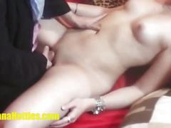 Veronika let me to put fingers inside her cunt