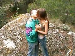 Skinny french girl take anal outdoor ... xoo5.com