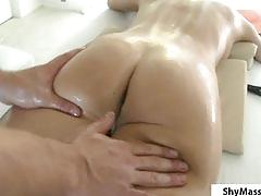Shymassage brunette massage fondling.p2