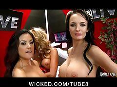 Wicked's live show 5 with jessica drake, kaylani lei  alektra blue