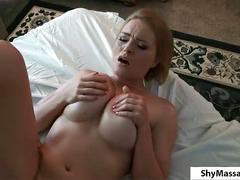 Busty blonde bitch massage.p2
