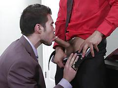 Topher and sam fuck each other like crazy