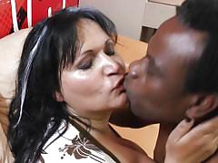 Betina gets her boobs groped and hole fucked