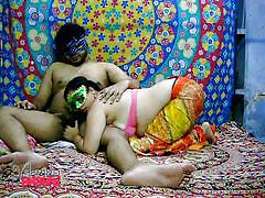 Velamma bhabhi sucks her man's cock before getting fucked
