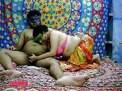 Velamma bhabhi sucks her man's cock before getting fucked