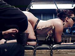 whip, bdsm, babe, torture, tied, domination, blindfolded, in chains, clothespines, device bondage, kink, orlando, mandy muse