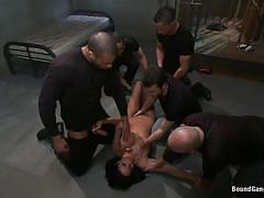 milf, anal, bondage, big tits, gang bang, interracial, deepthroat, domination, rope bondage, bound gang bangs, kink, anissa kate, james deen, mark davis, mickey mod, karlo karrera, rob blu