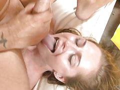 Roxy cums all over the place