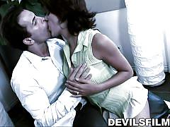 Lyla gets pussy licked @ this isn't twilight: the xxx parody