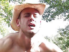 Luke and brenner fuck in the woods