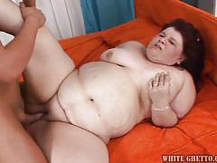Fat mature gets finally laid