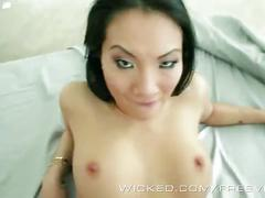 Asa akira and drake in a wicked threesome