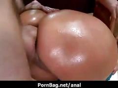 Anal pour salope huilée