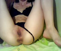 Young chick masturbating - www atopless com