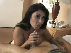 Milf natural boobs blowjob : jaylene rio