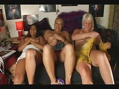 Girls masturbate - multiple orgasms