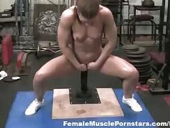 fetish, hardcore, pornstar, masturbation, toys, femalemusclepornstars.com, masturbating, pornstars, muscle, small-tits