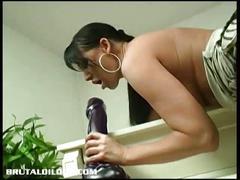 big tits, brunette, toys, milf, hd,