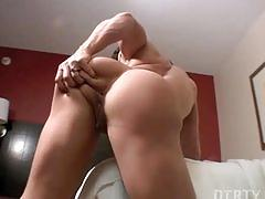 fetish, masturbating, biceps, flexing, pussy, tits, pierced