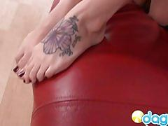 amateur, brunette, masturbating, couch, punk, pussy, sexy, teasin