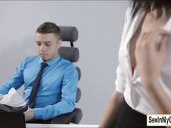 cumshot, hardcore, pornstar, smalltits, office, oral, euro