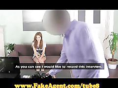 Fakeagent amazingly hot amateur