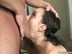 brunette, pornstar, rough sex, hardcore, ass, anal, premiumhdv.com, blow-job, cumshot, orgasm