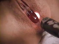 pussy, amateur, fisting, japanese, pierced, glass