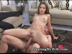 Beautiful wifey craves stranger's cock