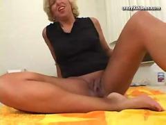 Older mature blonde milf