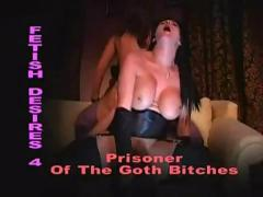 Filthy british slut donna marie in goth fetish 3some wth jane berry english slut