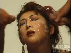 Japanese woman bukkake