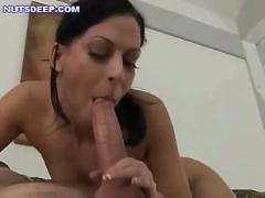 Deepthroat blowjob