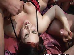 Gangbang party fuck for british amateurs