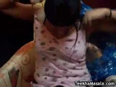 Desi ladiki stripping and tit fucked