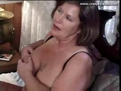 Milf with huge tits loves the dick