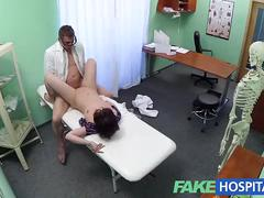 Fakehospital doctor solves patient depression through oral sex and fucking