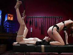 Whipped slave endures pain