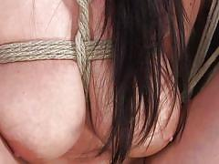 Sexy angela white gets tied up and dominated hard