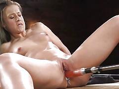 babe, solo, fucking machine, from behind, hard fucking, fucking machines, kink, cheyenne jewel
