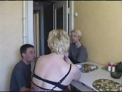anal, blonde, blowjob, fingering, mature, pussyfucking, gangbang, mom, mother, son