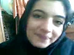 Cute & shy arab college girlfriend