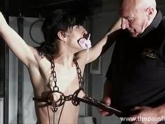 Hardcore bdsm and electric punishments of naughty fetish slaveslut elise graves