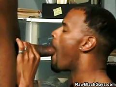 Lashawn jay gulps for monster black cock