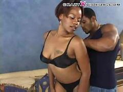 Hot black couple fucking