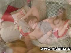 Super hot blonde teen gets her ass ravaged