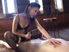 Handjob mistress