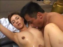Wet and horny asian
